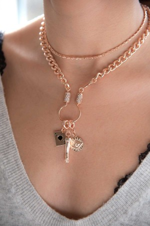 WHEAT- Chain Necklace - Thumbnail