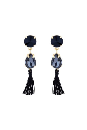 SHOW TIME - WINTER - Crystal Drop Earrings