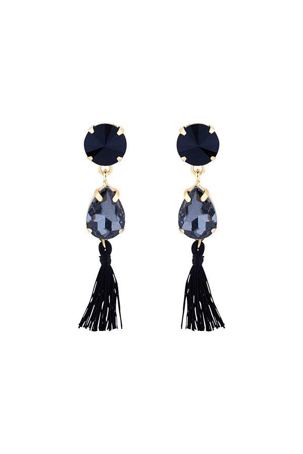 WINTER - Crystal Drop Earrings