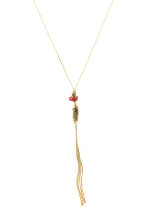 COMFORT ZONE - WINTER FIRE - Long Necklace