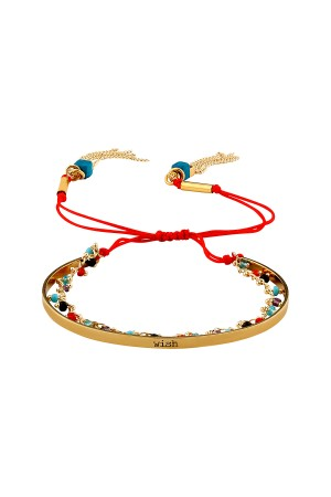 PLAYGROUND - WISH - Engraved Multilayered Bracelet