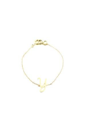 PETITE JEWELRY - Y - Letter Bracelet