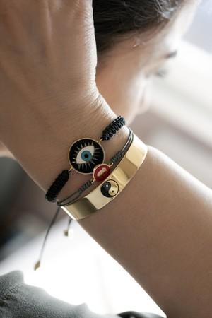 PLAYGROUND - YIN YANG - Cuff Bracelet (1)