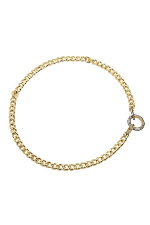SHOW TIME - ZOE - Chuncky Curb Chain Necklace